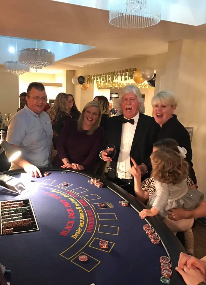 Casino House Party hire