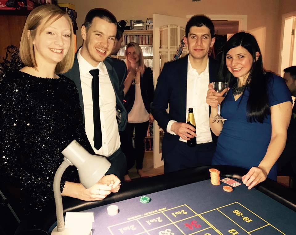 Private casino party hire derby