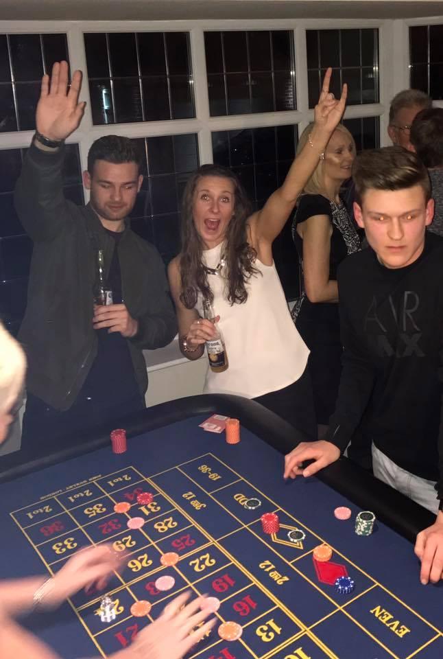 Casino Birthday Party Hire derbyshire
