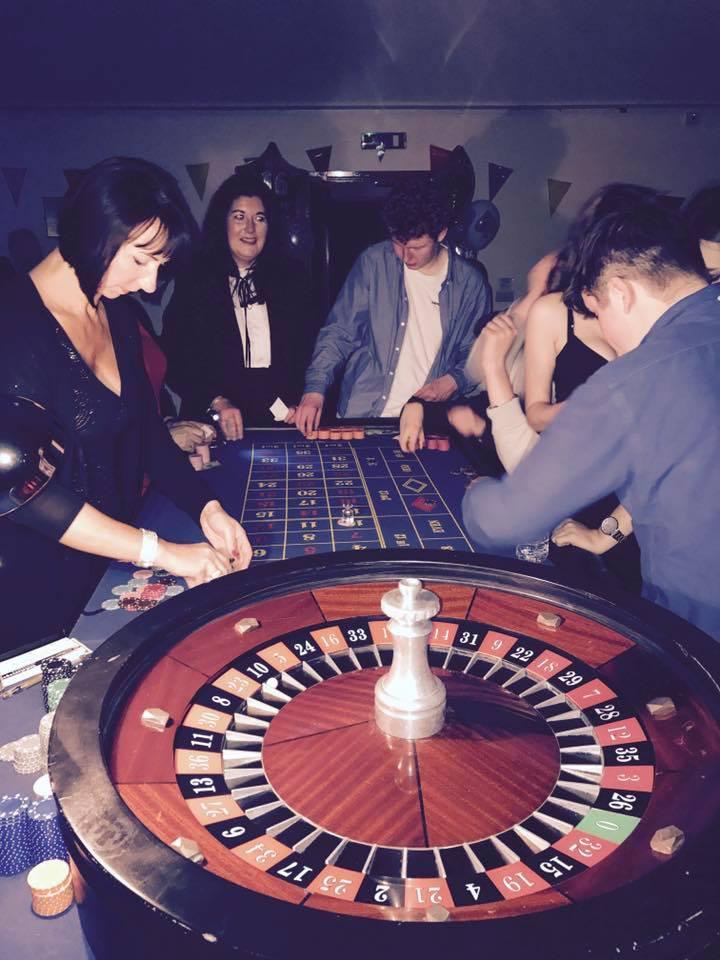Roulette table hire derbyshire